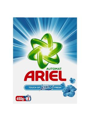 Стиральный порошок Автомат, Touch of Lenor Fresh 450г. Ariel. Цвет: зеленый, белый