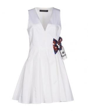 Короткое платье THAKOON. Цвет: белый