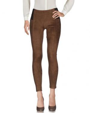 Повседневные брюки NO SECRETS. Цвет: коричневый