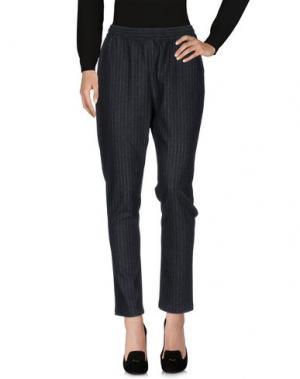 Повседневные брюки PAUW. Цвет: стальной серый