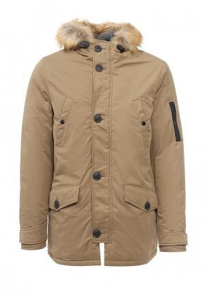 Куртка Burton Menswear London. Цвет: бежевый