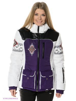 Куртка Sport Vision. Цвет: фиолетовый, белый