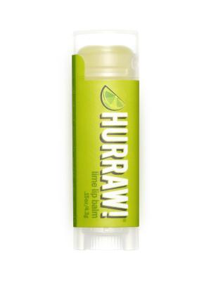Бальзам для губ Hurraw! Lime Lip Balm. Цвет: светло-зеленый