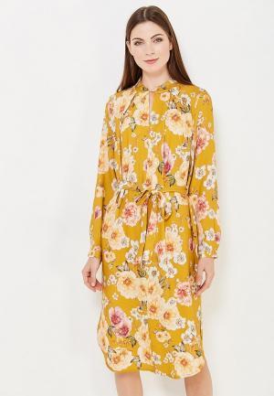 Платье Vis-a-Vis. Цвет: желтый