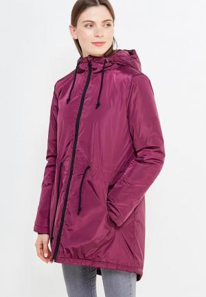 Куртка утепленная Modis. Цвет: фиолетовый