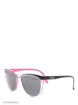 Солнцезащитные очки ROXY. Цвет: розовый