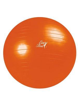 Мяч гимнастический 1766EG-IB Easy Body. Цвет: рыжий