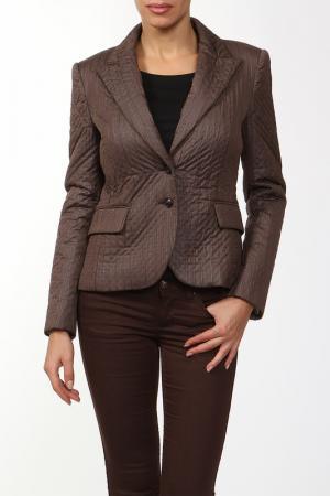 Пиджак Marly's. Цвет: коричневый