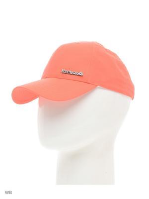 Бейсболка SE W BADGE  FIRCOR/WHITE Reebok. Цвет: розовый