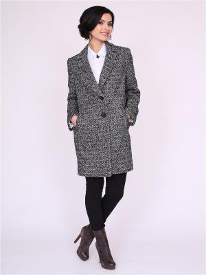 Пальто nasha. Цвет: белый, черный