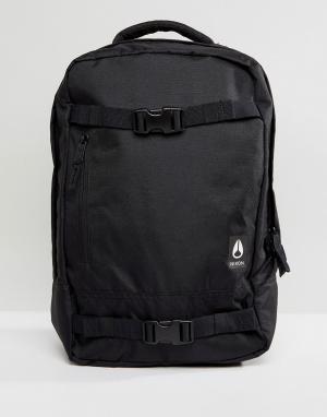 Nixon Рюкзак с ремешками для скейта Del Mar II. Цвет: черный