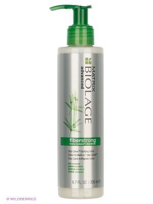 Крем-уход укрепляющий для слабых волос, биолаж ФАЙБЕРСТРОНГ, 200мл MATRIX. Цвет: белый