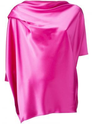Топ Eleanor Gianluca Capannolo. Цвет: розовый и фиолетовый