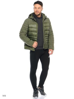 Куртка Adidas. Цвет: зеленый