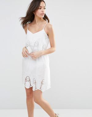 Pia Rossini Пляжное платье Chicco. Цвет: белый