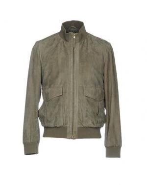 Куртка OLIVIERI. Цвет: свинцово-серый