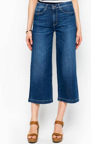 Синие джинсы кюлоты MORE &. Цвет: синий