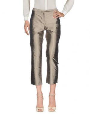 Повседневные брюки GOSSIP. Цвет: серый