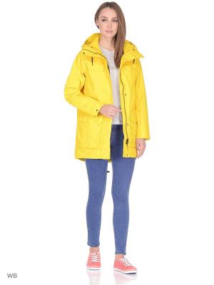 Куртка парка W CAPTAINS PARKA Helly Hansen. Цвет: горчичный
