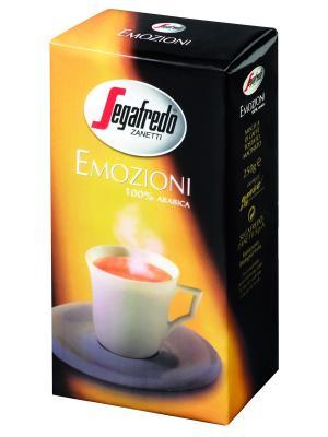 Кофе Segafredo EMOZIONI молотый 250г Zanetti. Цвет: черный