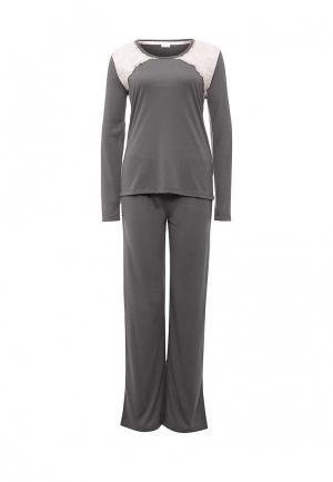Пижама Yamamay. Цвет: серый