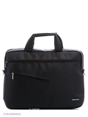 Сумка для ноутбука Cross Case. Цвет: черный