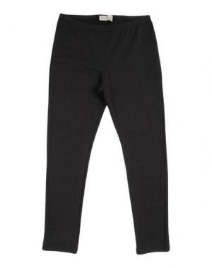 Повседневные брюки LE PETIT COCO. Цвет: свинцово-серый