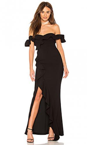 Вечернее платье miller LIKELY. Цвет: черный