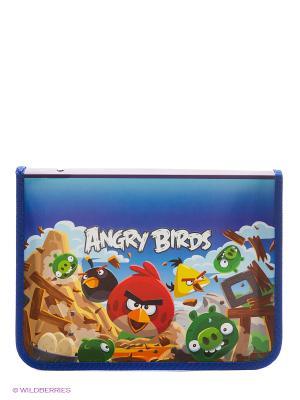 Папка для тетрадей Angry Birds Centrum. Цвет: синий