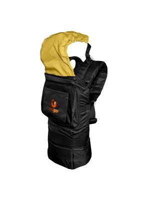 Рюкзак-переноска TIGger с капюшоном TIGger.. Цвет: черный