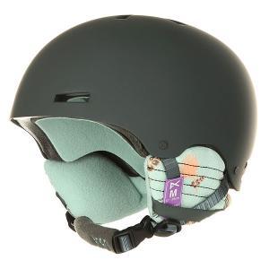 Шлем для сноуборда женский  Greta Tiki Anon. Цвет: черный