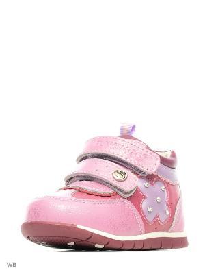Ботинки Flamingo. Цвет: лиловый, розовый