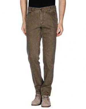 Джинсовые брюки ALVIERO MARTINI 1A CLASSE. Цвет: зеленый-милитари