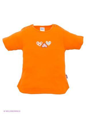 Футболка Liliput. Цвет: оранжевый