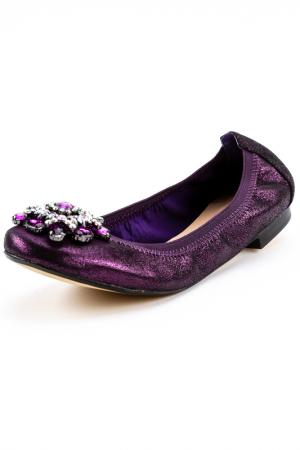 Балетки Menbur. Цвет: purple