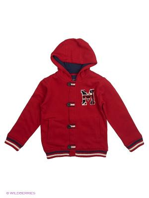 Куртка Mayoral. Цвет: бордовый