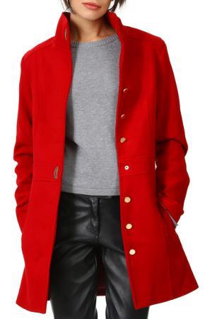 Пальто Dewberry. Цвет: vinous