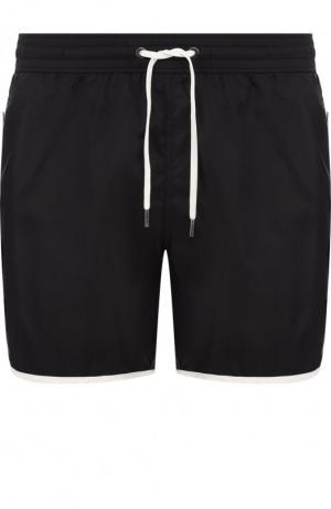 Плавки-шорты с карманами Ermenegildo Zegna. Цвет: черный