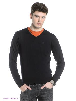 Пуловер Think Pink. Цвет: темно-синий