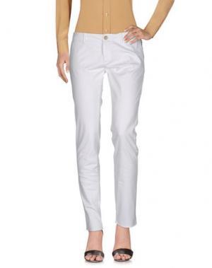 Повседневные брюки MAISON CLOCHARD. Цвет: белый