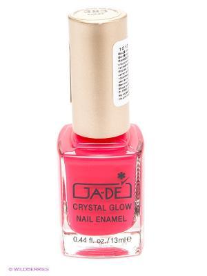 Лак для ногтей, 383 тон GA-DE. Цвет: розовый