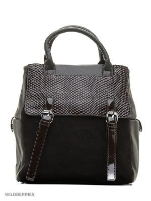 Сумка-рюкзак Sofiya. Цвет: коричневый