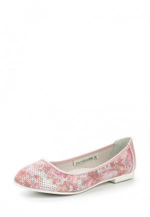 Балетки Zenden Collection. Цвет: розовый