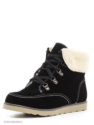 Ботинки Centro. Цвет: черный