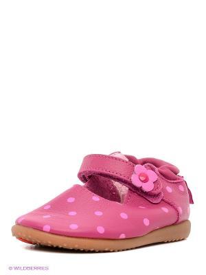 Туфли Shooshoos. Цвет: малиновый