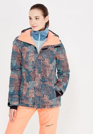 Куртка горнолыжная O`Neill. Цвет: разноцветный