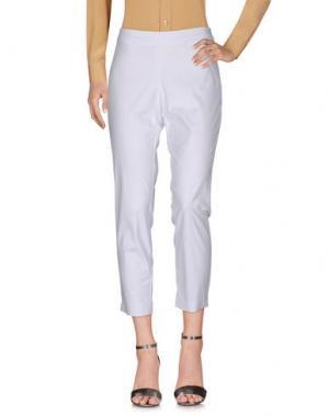 Повседневные брюки CONTE OF FLORENCE. Цвет: белый