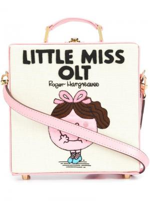 Сумка-тоут Little Miss OLT Olympia Le-Tan. Цвет: розовый и фиолетовый