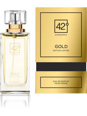 Парфюмерная вода для женщин V GOLD EDP 50 ml FRAGRANCE. Цвет: золотистый