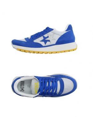 Низкие кеды и кроссовки 2STAR. Цвет: синий